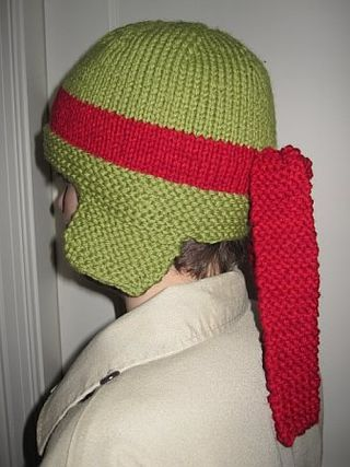 Ninja Turtle Cap side view