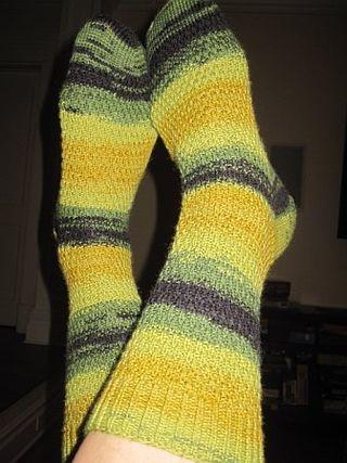 Roman rib socks dark