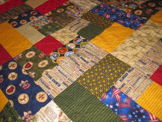 Major Knitter: Boy Scout Quilt : boy scout quilt - Adamdwight.com
