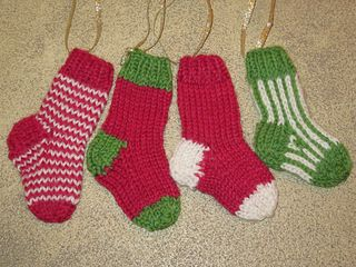 Mini Stocking Ornaments