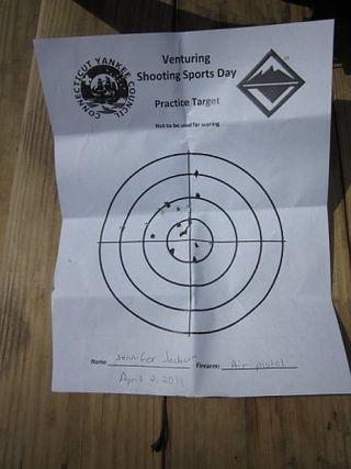 Air Pistol Target
