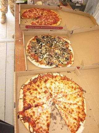 Pizzas from Old Nevada Pizza