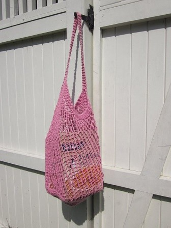 Pink Market Bag
