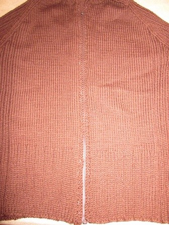 Basted zipper