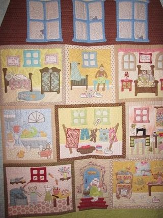 Wonderful Doll House Quilt
