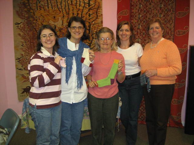 Charlene Schurch class at my LYS