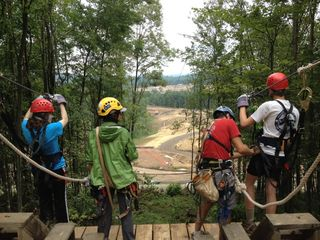 Top of the Zip Line