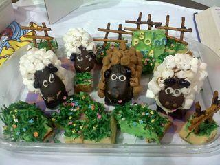 C's Sheep cake