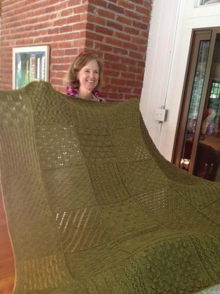 Lisa w blanket