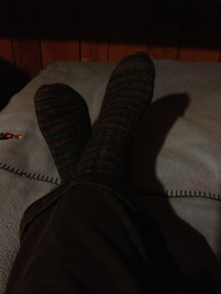 Caroline's socks