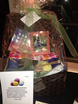 B&S Knitting Basket
