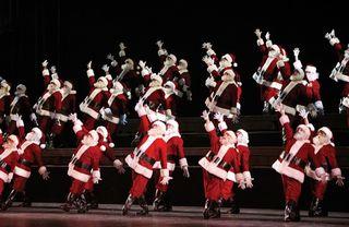 Radio City Santas