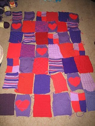 Warm Up America Blanket 2005