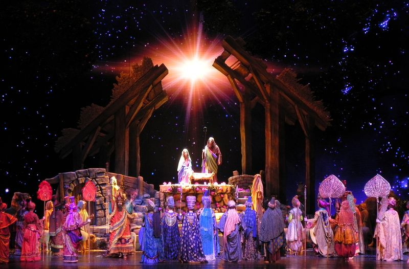 Radio City Living Nativity