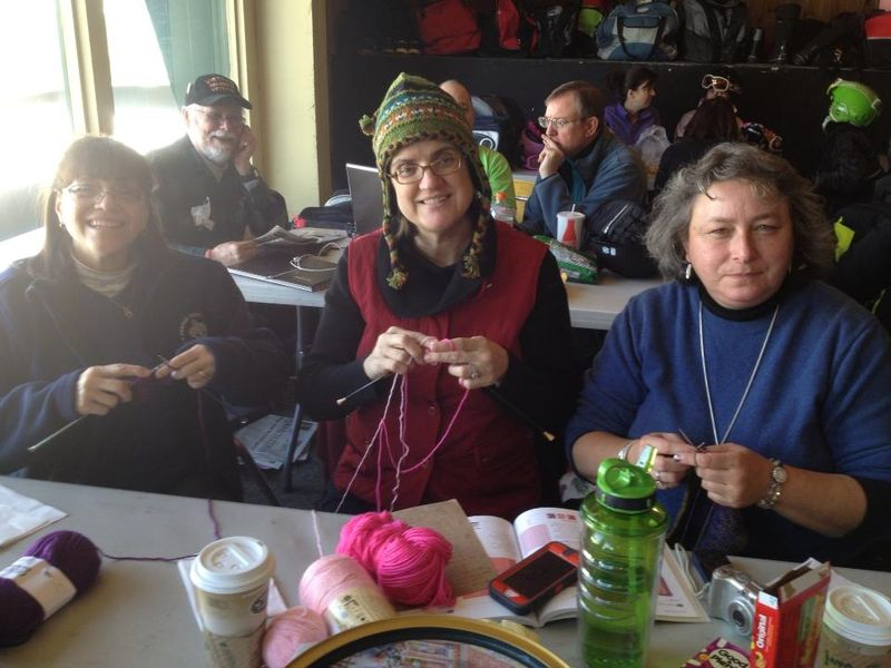 Mt Snow Knitting Ladies