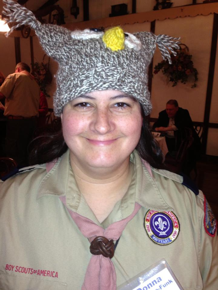 Donna's Owl Hat