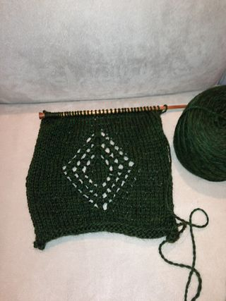 Sampler Blanket Forest Green