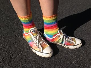 Rainbow Socks 1