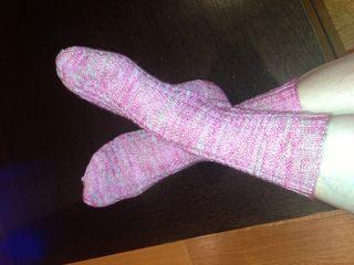 Pink Socks FO