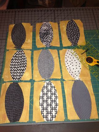 Urban Abacus quilt blocks