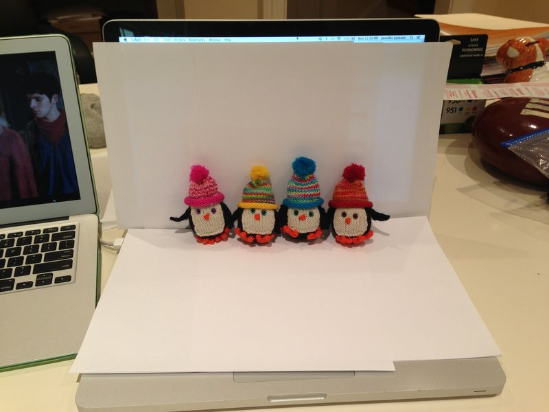 Penguins in Pseudo White Box