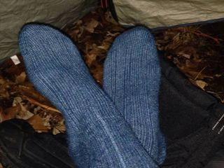 Four Year Old Socks - Klondike 2010