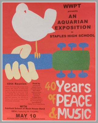 WWPT 40th Reunion Poster by MWM