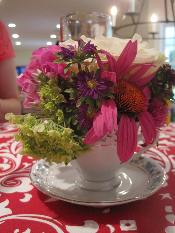 Teacup boquet