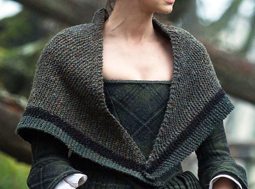 Claire's Rent Collecting Shawl