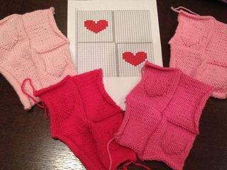 Heart patchwork