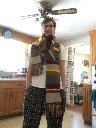 Dr. Who Scarf Received