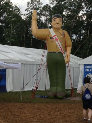 OA inflatable guy
