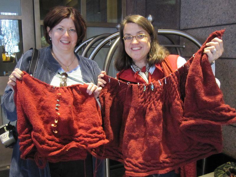 Knitting Doctor and Major Knitter 2010