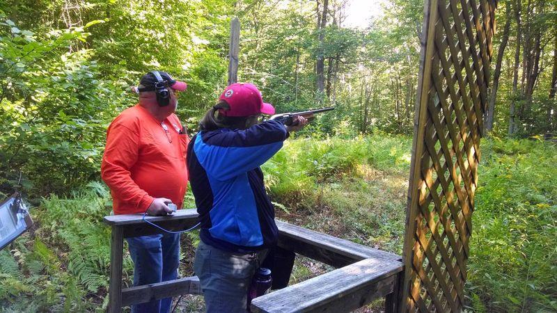 2 Marines at Shooting Sports