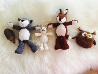 Woodland Animals x5