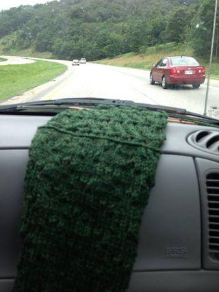 Green on Dashboard