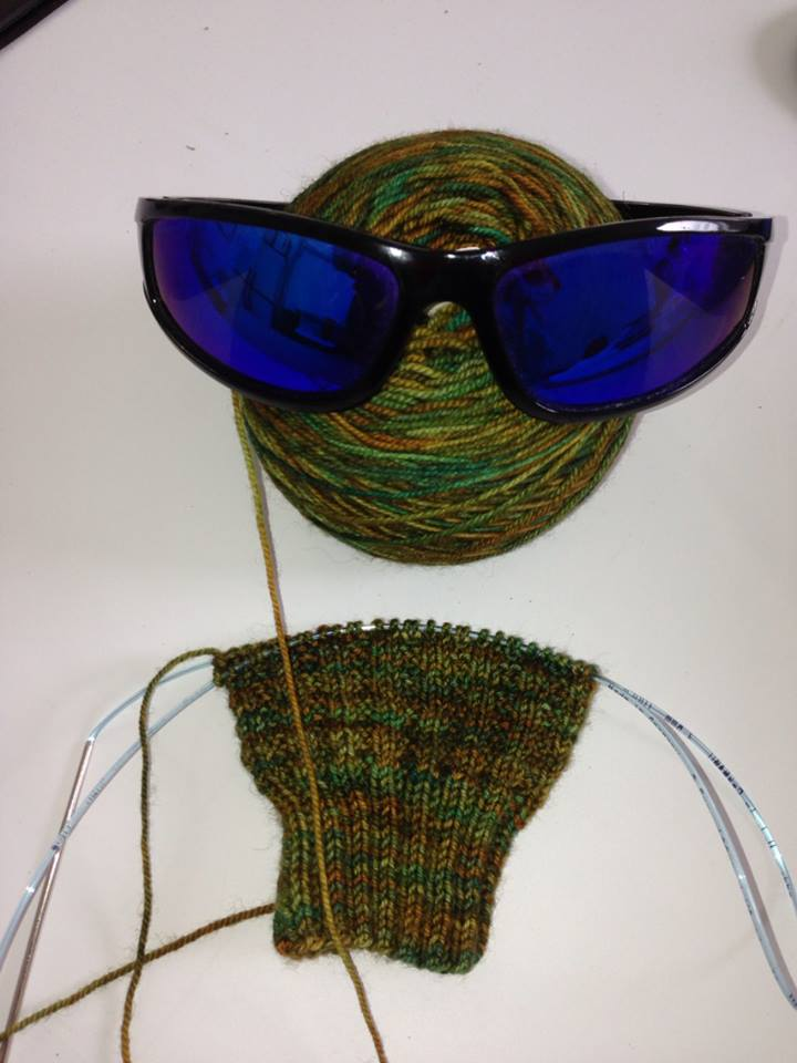 Knitting is cool