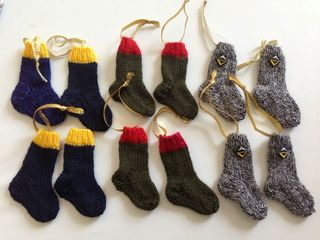 Mini Sock Knitting