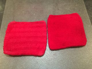 Red Potholders