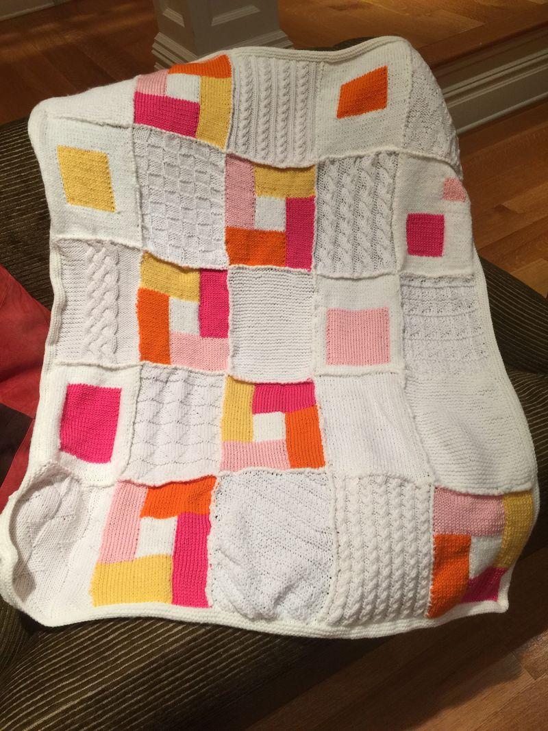 Modern Quilt Pinks