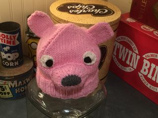 Pink bear or pink rat?