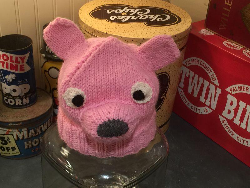Pink bear or pink rat?