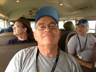John on the bus