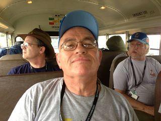John on the bus