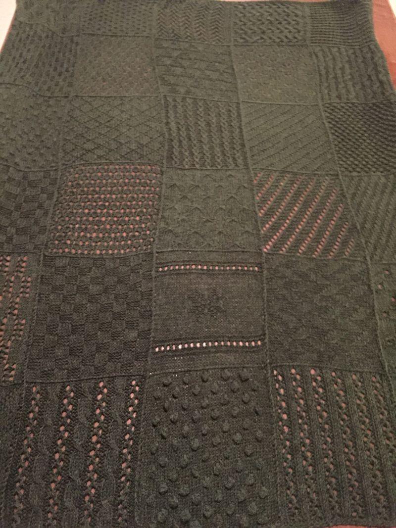 Green Sampler Blanket