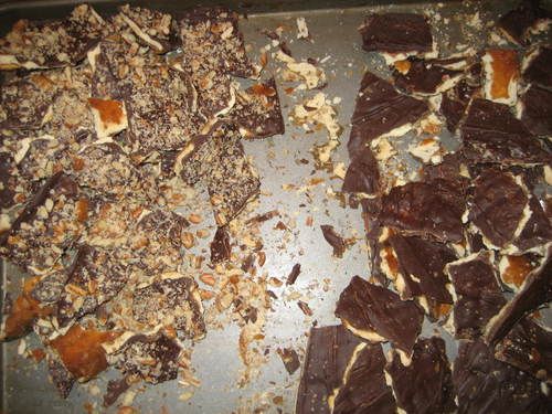 Chocolate Toffee Cracker