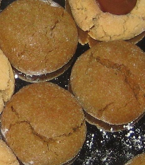 Grandma Lois' Ginger Snap Cookies