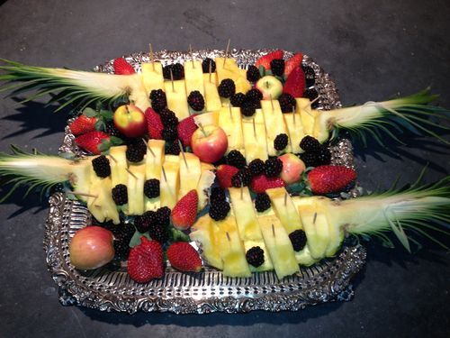 Pineapple Fruit Tray