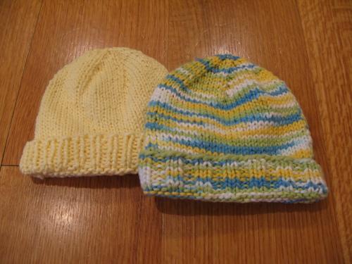 Free Knitting Patterns Basic Newborn Baby Hat