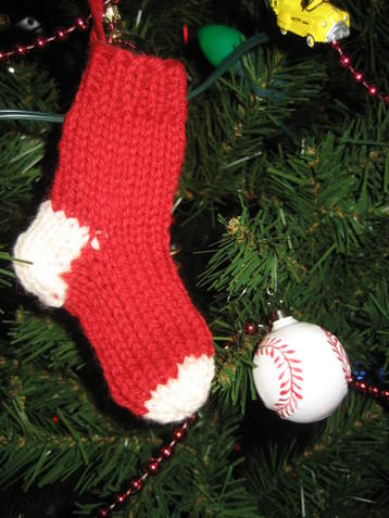 Miniature Sock Ornament